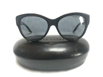 Ralph Lauren Womens Cat Eye Sunglasses Black And Tortoise Shell • 45£