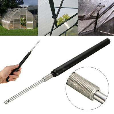 UK Automatic Greenhouse Window Roof Vent Opener Cylinder Solar Tem Control Tool • 11.49£