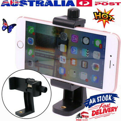 AU9.95 • Buy Cell Phone Holder Mount Universal Smartphone Tripod Adapter For IPhone Camera &H