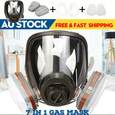AU25.68 • Buy For 6800 Safe Gas Mask Full Face Facepiece Respirator Painting Spraying Chemical