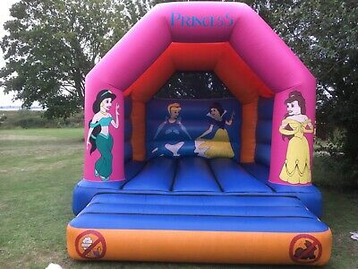 Bouncy Castle Princess Themed 12 X 14ft Commercial Grade Used In Good Condition • 474.99£