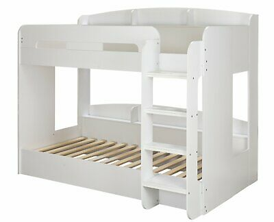 Argos Home Ultimate Bunk Bed And 2 Kids Mattresses - White • 520£