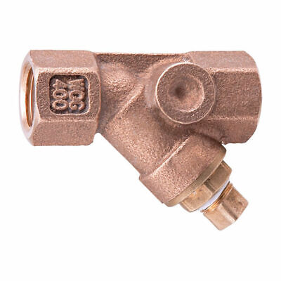 $ CDN240.52 • Buy Watts 3/4'' Bronze Wye Strainer-Tapped Retainer Cap With Plug Lead Free, One Box