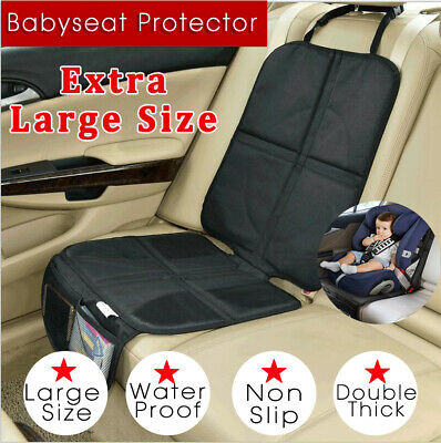 AU14.20 • Buy Baby Car Seat Protector Mat Covers Under Child Seat Leather Saver Car Cover AU
