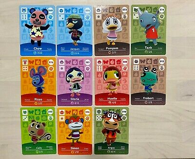AU6 • Buy Cheap Genuine Animal Crossing Amiibo Cards Nintendo Switch New Horizons