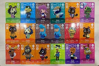 AU5 • Buy Cheap Genuine Animal Crossing Amiibo Cards Nintendo Switch New Horizons SP Cards