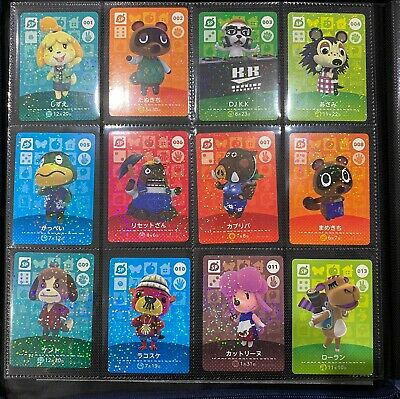 AU4 • Buy Cheap Genuine Animal Crossing Amiibo Cards Nintendo Switch New Horizons JP Ver