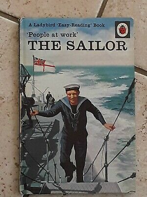 Vintage Ladybird Book.people At Work  The Sailor  606b   • 8.50£