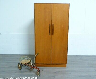 G Plan Fresco Teak Double Wardrobe • 325£