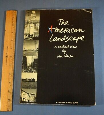 The American Landscape By Ian Nairn Random House First 1965 Paperback  • 17.88£
