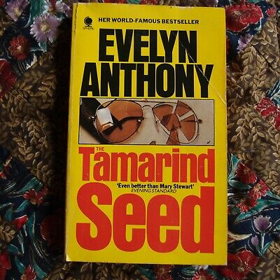 Evelyn Anthony Romantic Suspense The Tamarind Seed Paperback 1988 Rare HTF • 4.19£