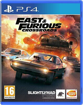 Fast And Furious: Crossroads Sony Playstation PS4 Game • 33.99£