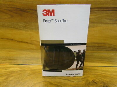 3M PELTOR ELECTRONIC EAR DEFENDERS SportTac Shooting Sportac Hearing Protection • 128.95£
