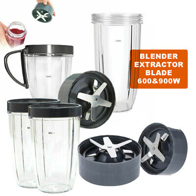 AU23.99 • Buy Colossal Cups Extractor Blade For 600 900w Nutribullet Blender Replacement