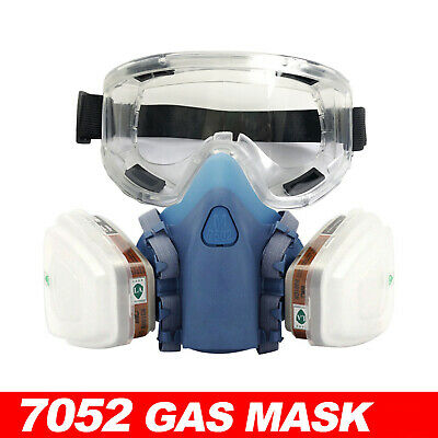 AU25 • Buy 7502 Piece Suit Half Face Respirator Painting Spraying Mouth Gas Mask AU