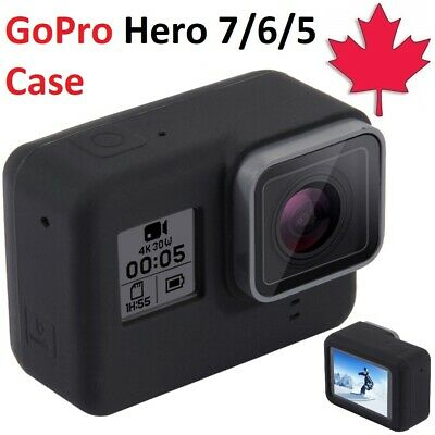 $ CDN8.95 • Buy For GoPro Hero 7 6 5 Case Silicone Rubber Sleeve Protective Housing Frame Cover