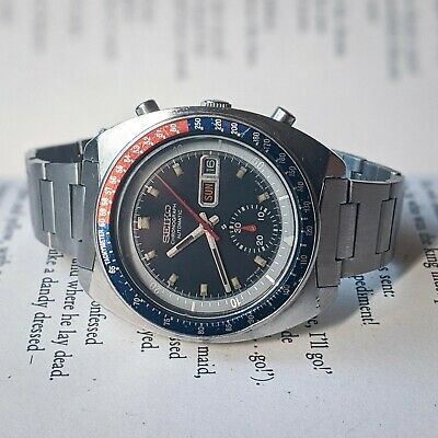 $ CDN837.93 • Buy Vintage Seiko Pogue Men's, 1970s, Automatic, Chronograph Watch 6139-6002 Working