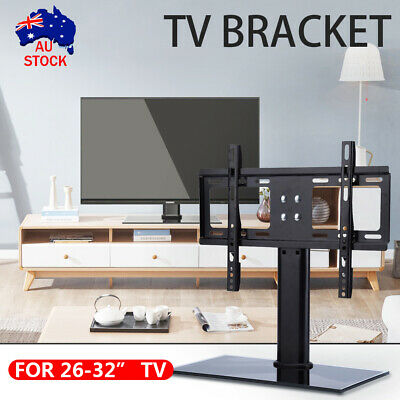 AU20.98 • Buy TV Stand Bracket Table Top Desktop LCD LED Plasma VESA Mount 22-32'' Inch AU