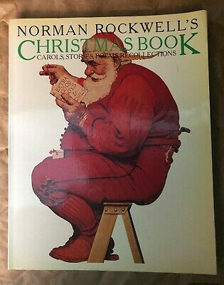 $ CDN4.44 • Buy Norman Rockwell's Christmas Book - Carols, Stories, Poems Recollections