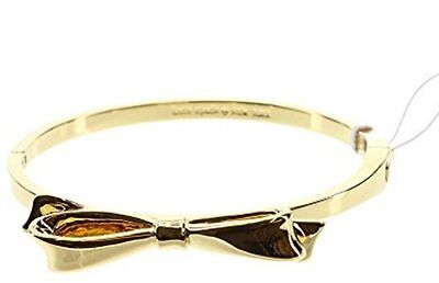 $ CDN89.97 • Buy KATE SPADE New York LOVE NOTES Bangle Hinged Bracelet BOW Gold  FREE SHIPPING