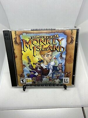 £6.80 • Buy 2000 Escape From Monkey Island PC CD-ROM Game LucasArts Windows Computer Game