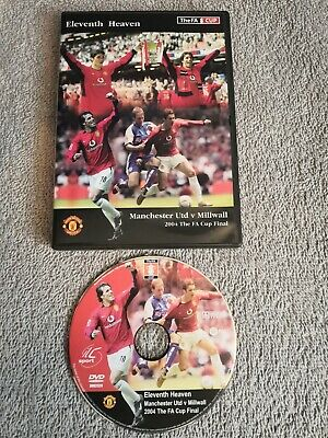 FA Cup Final 2004 - Manchester United V Millwall (DVD, 2005) • 6.50£