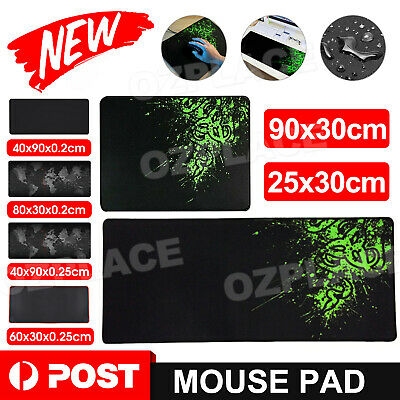 AU12.95 • Buy Large Size Gaming Mouse Pad Desk Mat Extended Anti-slip Rubber Speed Mousepad