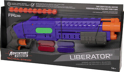 AU54.95 • Buy DART ZONE Adventure Force - LIBERATOR Pump Action Compatible With NERF RIVAL