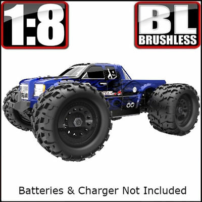 Redcat Racing Landslide XTE Truck 1/8 Scale Brushless Electric Monster RC *Blue • 220.39£