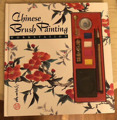 £14.19 • Buy Chinese Brush Painting Workstation 1993 Hard Cover Book Vintage How To Craft