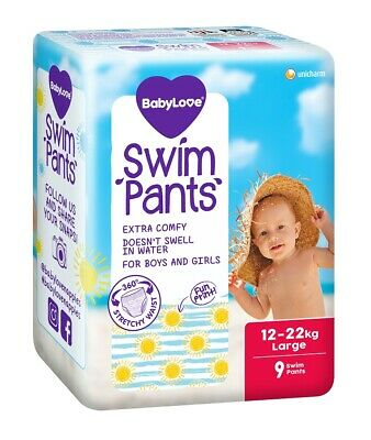 AU10.95 • Buy BabyLove Swim Pants Large (12 To 22kg) X 9 (Limit 2 Per Order)