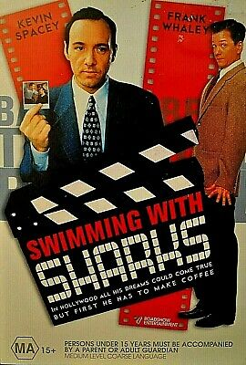 AU4.50 • Buy SWIMMING WITH THE SHARKS Kevin Spacey Frank Whaley DVD Pre-Owned Great Condition