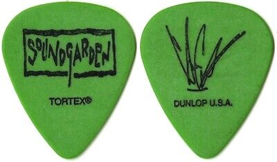 $ CDN198.11 • Buy Soundgarden 1996 Lollapalooza Tour Chris Cornell Signature Vintage Guitar Pick