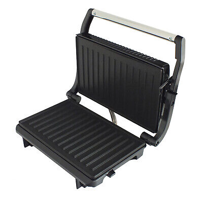 Compact 2 Slice Electric Panini Press Grill 700w Non Stick With Floating Hinge • 22.99£