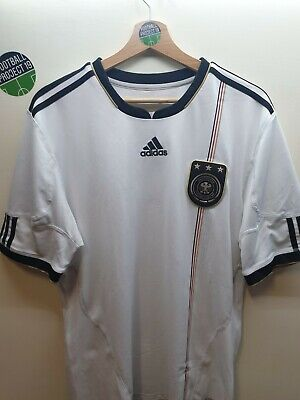 Germany Adidas Home Football Shirt 10/11, Size Large  • 19.99£