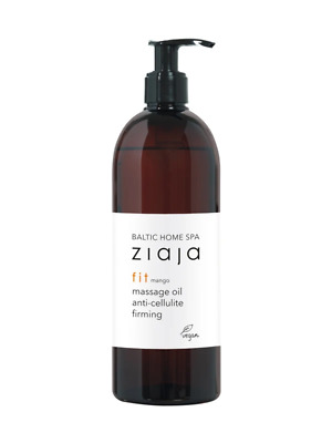 Ziaja Baltic Home SPA Fit Anti-Cellulite And Firming Massage Oil 490ML OFFICIAL • 10.37£