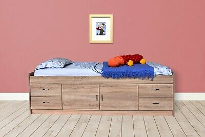 £211.02 • Buy Gamma Cabin Bed With Storage And 4 Large Drawers In Oak - R236O