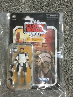 $ CDN30 • Buy Star Wars The Vintage Collection Clone Commander Wolffe 3 3/4-Inch Action Figure