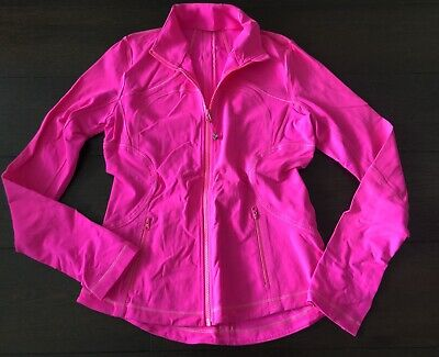 $ CDN39.99 • Buy Lululemon FORME JACKET Zip Up Hot Neon Pink Sz 8