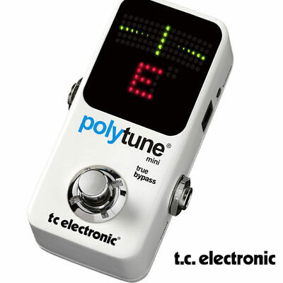 AU148 • Buy TC Electronic Poly Tune Mini Pedal Guitar Tuner- True Bypass