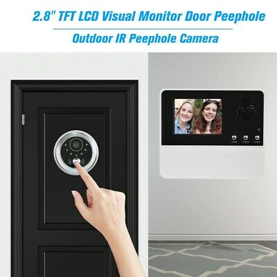 2.8  TFT LCD Screen Digital Eye Viewer Peephole Camera Door Monitor Viewers BE • 26.78£