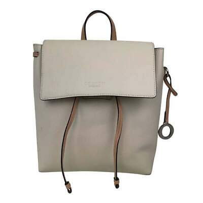 AU212 • Buy Oroton Small Cream Leather Backpack With Pink Straps