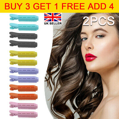 2pcs Volumizing Fluffy Hair Clip Hair Root Curler Roller Wave Fluffy Hairstyling • 3.79£