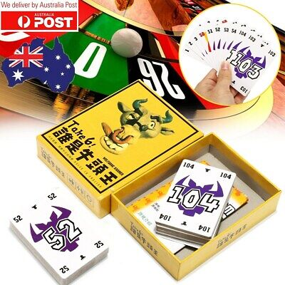 AU12.99 • Buy Good Funny Mayfair Wolfgang Krame Amigo Nimmt Party Card Game Take 6 Abd7