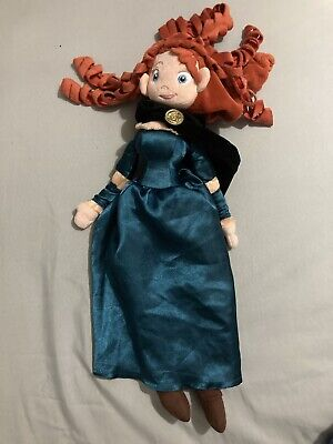 Disney Store Princess Merida Brave Doll Soft Plush Toy Height Approx 20  • 13£