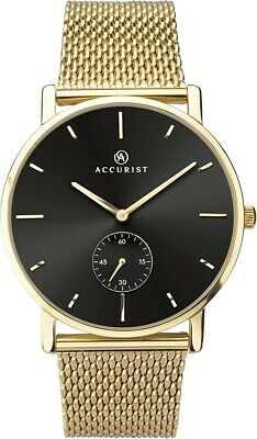 £52.99 • Buy Accurist Mens Classic Watch With Milanese Strap 7185