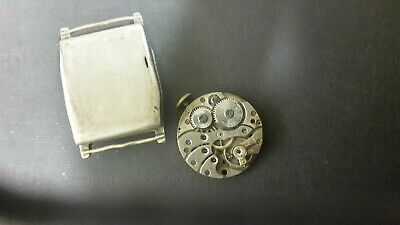 £20 • Buy Vintage Titus Cushion Mechanical Watch With Hinged Case