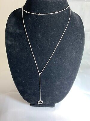$ CDN37.54 • Buy KATE SPADE New York FULL CIRCLE CLEARSILVER NECKLACE  NWT $28 (Retail $59)