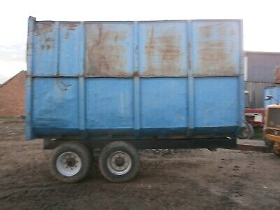 Silage Trailer 8-10 Ton Blue • 1,000£