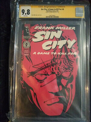 Sin City #6,1st Print,CGC 9.8,SS Signed By Frank Miller,Last SS CGC Copy! • 750.49£